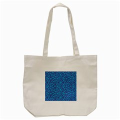 Monogram Blue Purple Background Tote Bag (cream) by Nexatart