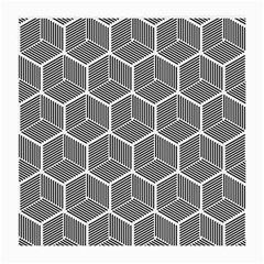 Cube Pattern Cube Seamless Repeat Medium Glasses Cloth by Nexatart