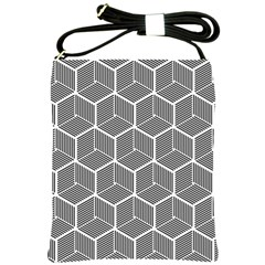 Cube Pattern Cube Seamless Repeat Shoulder Sling Bags by Nexatart