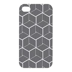 Cube Pattern Cube Seamless Repeat Apple Iphone 4/4s Premium Hardshell Case by Nexatart
