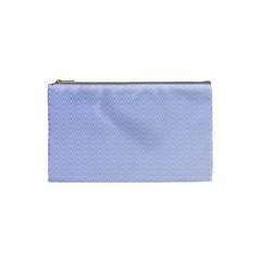 Zigzag Chevron Thin Pattern Cosmetic Bag (small)  by Nexatart