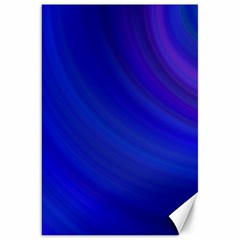 Blue Background Abstract Blue Canvas 20  X 30   by Nexatart