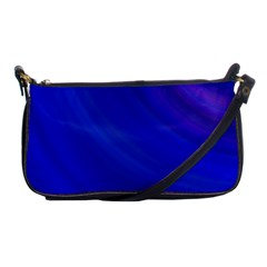 Blue Background Abstract Blue Shoulder Clutch Bags by Nexatart