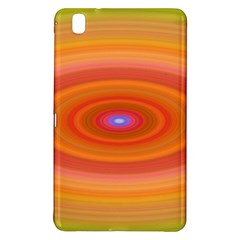 Ellipse Background Orange Oval Samsung Galaxy Tab Pro 8 4 Hardshell Case by Nexatart