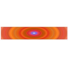 Ellipse Background Orange Oval Flano Scarf (large) by Nexatart