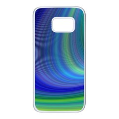 Space Design Abstract Sky Storm Samsung Galaxy S7 White Seamless Case