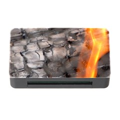 Fireplace Flame Burn Firewood Memory Card Reader With Cf by Nexatart