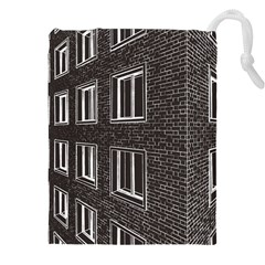 Graphics House Brick Brick Wall Drawstring Pouches (xxl) by Nexatart