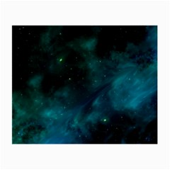 Space All Universe Cosmos Galaxy Small Glasses Cloth by Nexatart