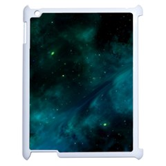 Space All Universe Cosmos Galaxy Apple Ipad 2 Case (white) by Nexatart