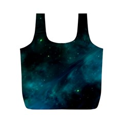 Space All Universe Cosmos Galaxy Full Print Recycle Bags (m)  by Nexatart