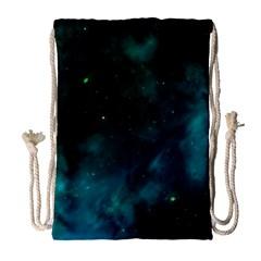 Space All Universe Cosmos Galaxy Drawstring Bag (large) by Nexatart