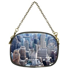 Manhattan New York City Chain Purses (one Side)  by Nexatart
