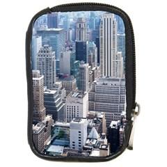Manhattan New York City Compact Camera Cases by Nexatart