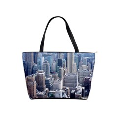 Manhattan New York City Shoulder Handbags by Nexatart