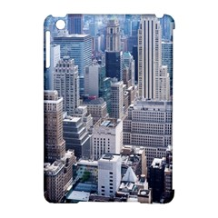 Manhattan New York City Apple Ipad Mini Hardshell Case (compatible With Smart Cover) by Nexatart