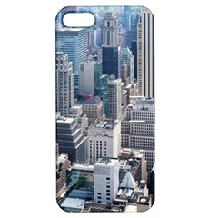 Manhattan New York City Apple Iphone 5 Hardshell Case With Stand by Nexatart