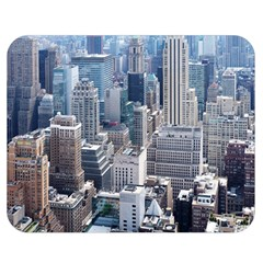 Manhattan New York City Double Sided Flano Blanket (medium)  by Nexatart