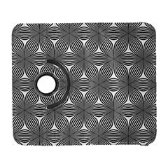 Seamless Weave Ribbon Hexagonal Galaxy S3 (flip/folio) by Nexatart