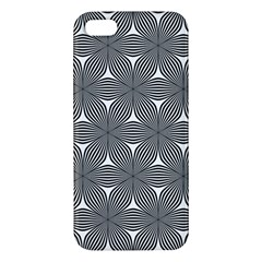 Seamless Weave Ribbon Hexagonal Iphone 5s/ Se Premium Hardshell Case by Nexatart