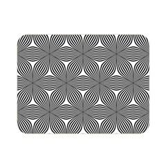 Seamless Weave Ribbon Hexagonal Double Sided Flano Blanket (mini)  by Nexatart