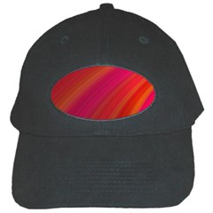 Abstract Red Background Fractal Black Cap by Nexatart