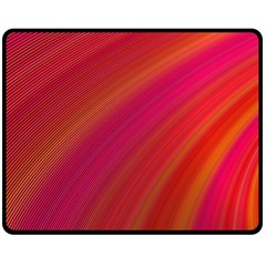 Abstract Red Background Fractal Fleece Blanket (medium)  by Nexatart