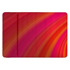 Abstract Red Background Fractal Samsung Galaxy Tab 8 9  P7300 Flip Case by Nexatart