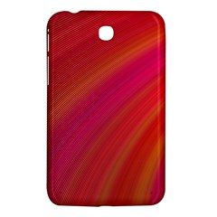 Abstract Red Background Fractal Samsung Galaxy Tab 3 (7 ) P3200 Hardshell Case  by Nexatart