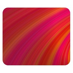 Abstract Red Background Fractal Double Sided Flano Blanket (small)  by Nexatart