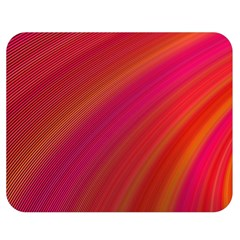 Abstract Red Background Fractal Double Sided Flano Blanket (medium)  by Nexatart