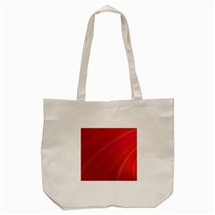 Abstract Red Background Fractal Tote Bag (cream) by Nexatart
