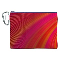 Abstract Red Background Fractal Canvas Cosmetic Bag (xxl) by Nexatart