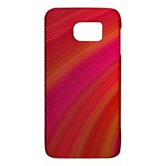 Abstract Red Background Fractal Galaxy S6 by Nexatart