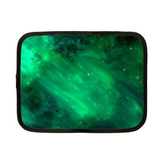 Green Space All Universe Cosmos Galaxy Netbook Case (small)  by Nexatart