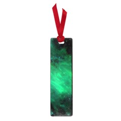 Green Space All Universe Cosmos Galaxy Small Book Marks by Nexatart