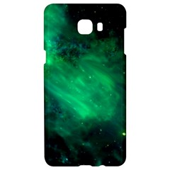 Green Space All Universe Cosmos Galaxy Samsung C9 Pro Hardshell Case  by Nexatart
