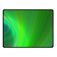 Green Background Abstract Color Fleece Blanket (small) by Nexatart