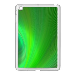 Green Background Abstract Color Apple Ipad Mini Case (white)