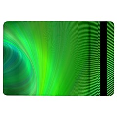 Green Background Abstract Color Ipad Air Flip by Nexatart