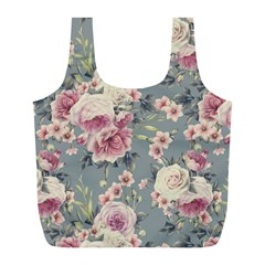 Pink Flower Seamless Design Floral Full Print Recycle Bags (l)  by Nexatart