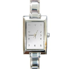 White Background Abstract Light Rectangle Italian Charm Watch by Nexatart
