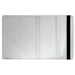 White Background Abstract Light Apple Ipad 2 Flip Case by Nexatart