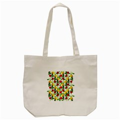 Rose Pattern Roses Background Image Tote Bag (cream) by Nexatart