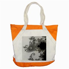 Apple Males Mandelbrot Abstract Accent Tote Bag by Nexatart