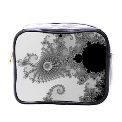 Apple Males Mandelbrot Abstract Mini Toiletries Bags by Nexatart