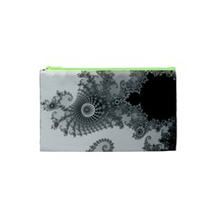 Apple Males Mandelbrot Abstract Cosmetic Bag (xs) by Nexatart