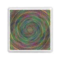 Spiral Spin Background Artwork Memory Card Reader (square)  by Nexatart