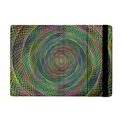 Spiral Spin Background Artwork Apple Ipad Mini Flip Case by Nexatart