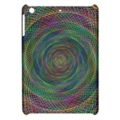 Spiral Spin Background Artwork Apple Ipad Mini Hardshell Case by Nexatart